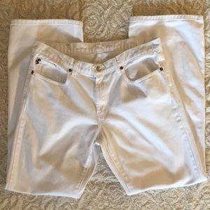 White Polo Jeans